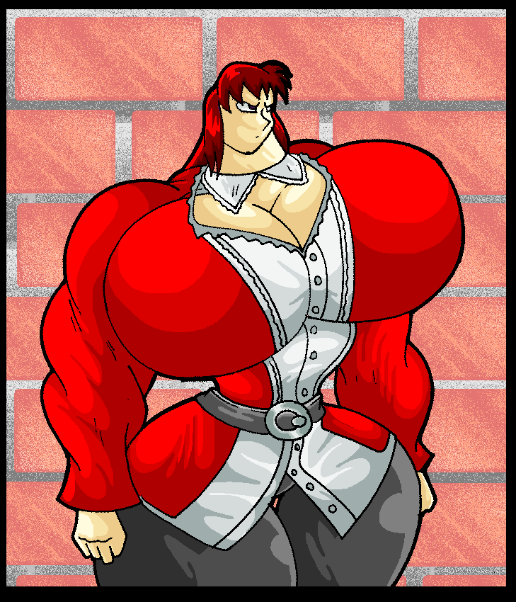 muscle scarlet. by virus-20 on deviantart, Muscles