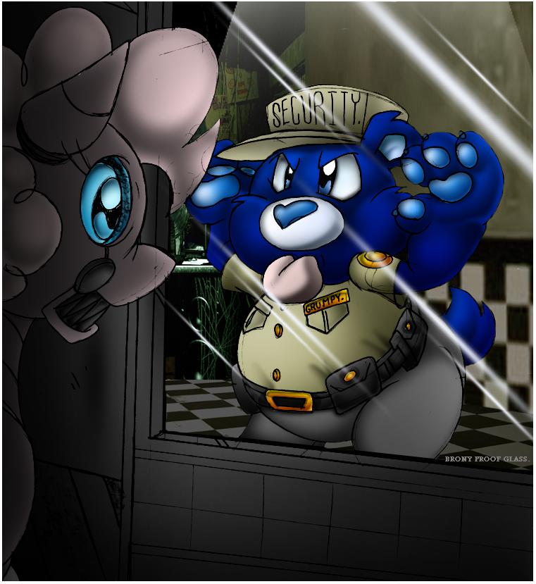 Grumpy Bear Working Night Shifts. by Virus-20
