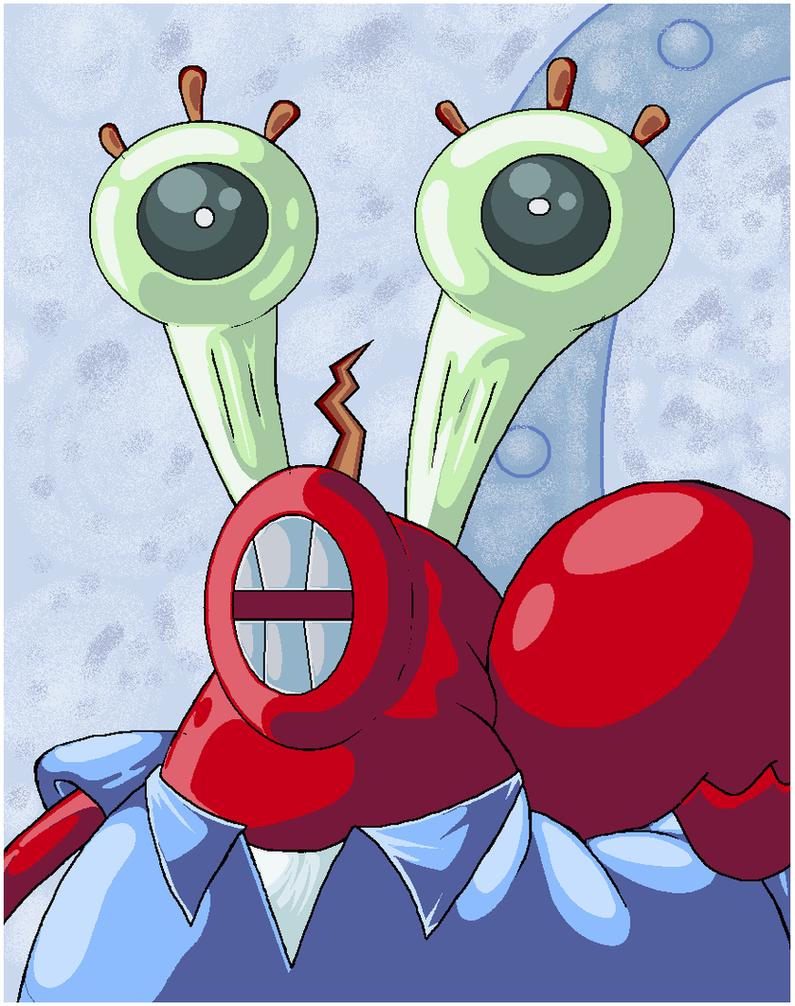 mr krabs did it by virus 20 on deviantart