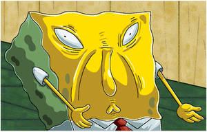 Spongebob Uses Too Much Sauce.