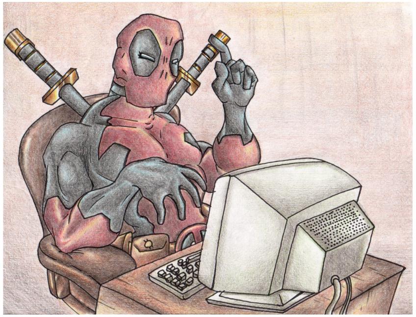 Deadpool Internet. by Virus-20