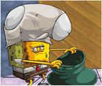 SpongeBob Wants The Money.