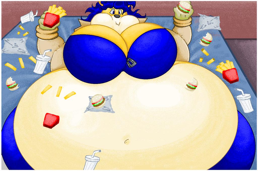 Carmelita fox weight gain
