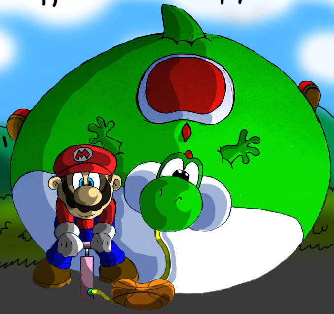 Pump up Yoshi by Virus-20