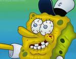 Spongebob. Shaking Hands.