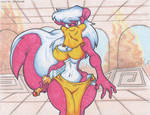 Toxina Skunk. Belly Dancer.