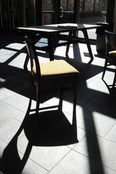 chair's shadow