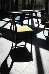 chair's shadow