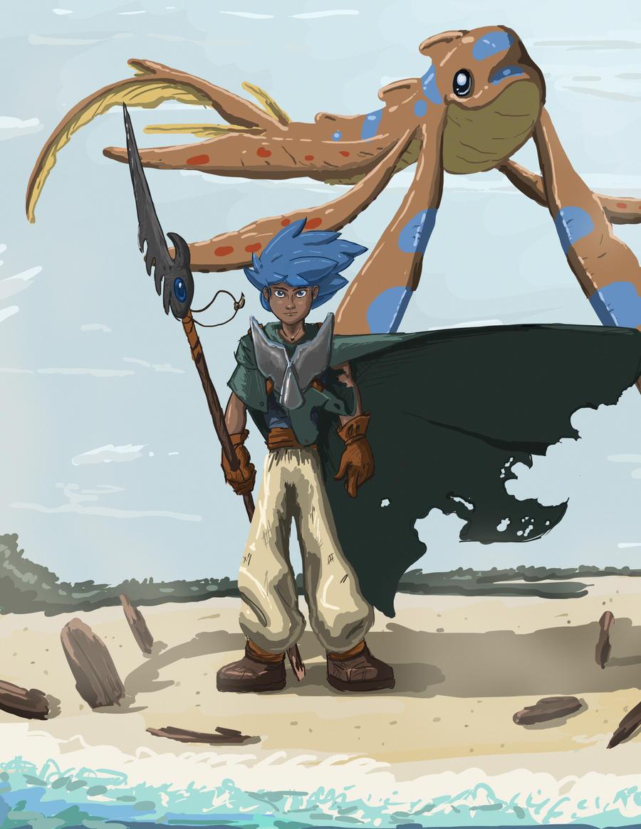 wizard in the forbidden sea by odysseus up on deviantart
