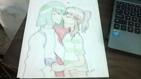 Redraw of Chihiro x Haku drawing :) by witchguy24