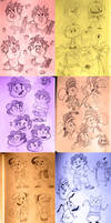 Cartoon Doodles