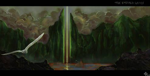 The Emerald Gates by Shiro-mii