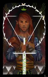 Inquisitor Ronan Lavellan by Shiro-mii