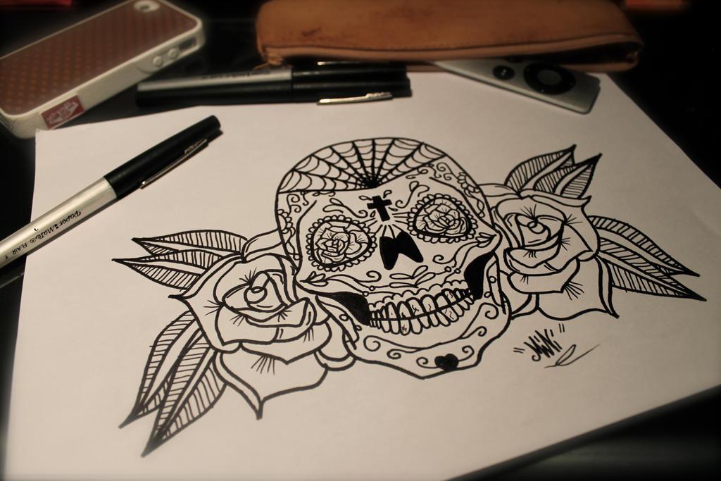 Sugar Skull by SpleenIdeal