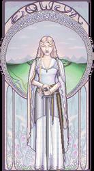 White Lady of Rohan by Elaitea
