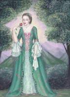 Rococo Lady by Elaitea