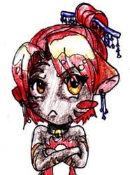 Grumpy Kitty by lildoombat