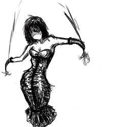 faceless puppet girl