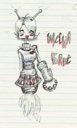 Mecha Babe by lildoombat