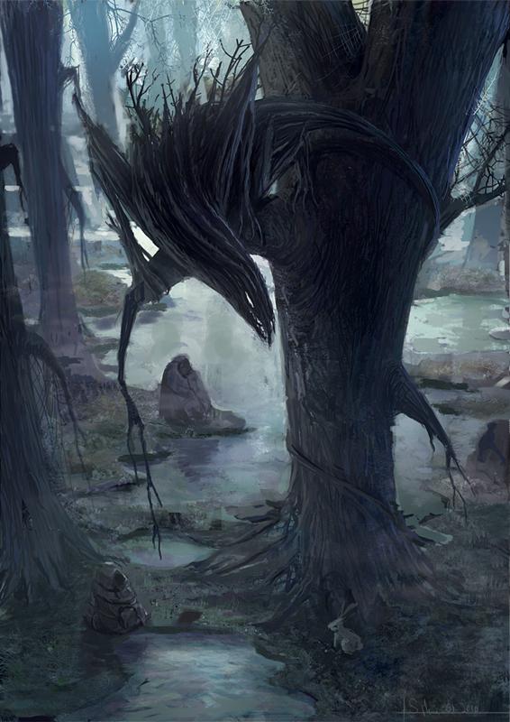 Swamp Predator by 6Noodle9