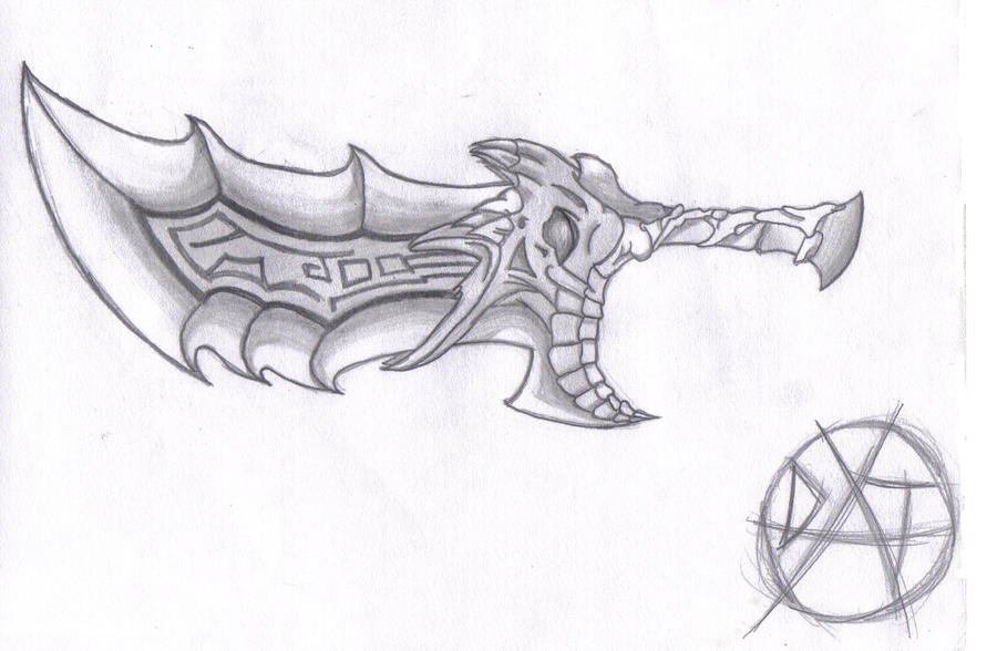 Blade of Chaos by Kingdom-Hearts-King on DeviantArt
