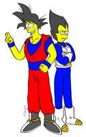 SimpsonsBall Z by SewerShark
