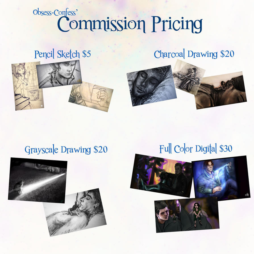 Commission Pricing by Obsess-Confess