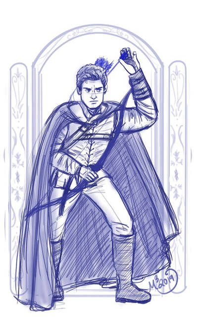 Daniel of Mirrel (sketch)  by Obsess-Confess