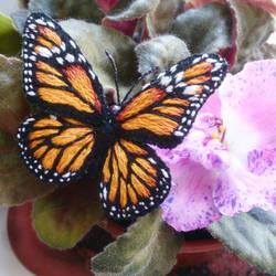 Butterfly [3d embroidery] by LadonbKokosa