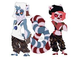New characters: Maza and Faka