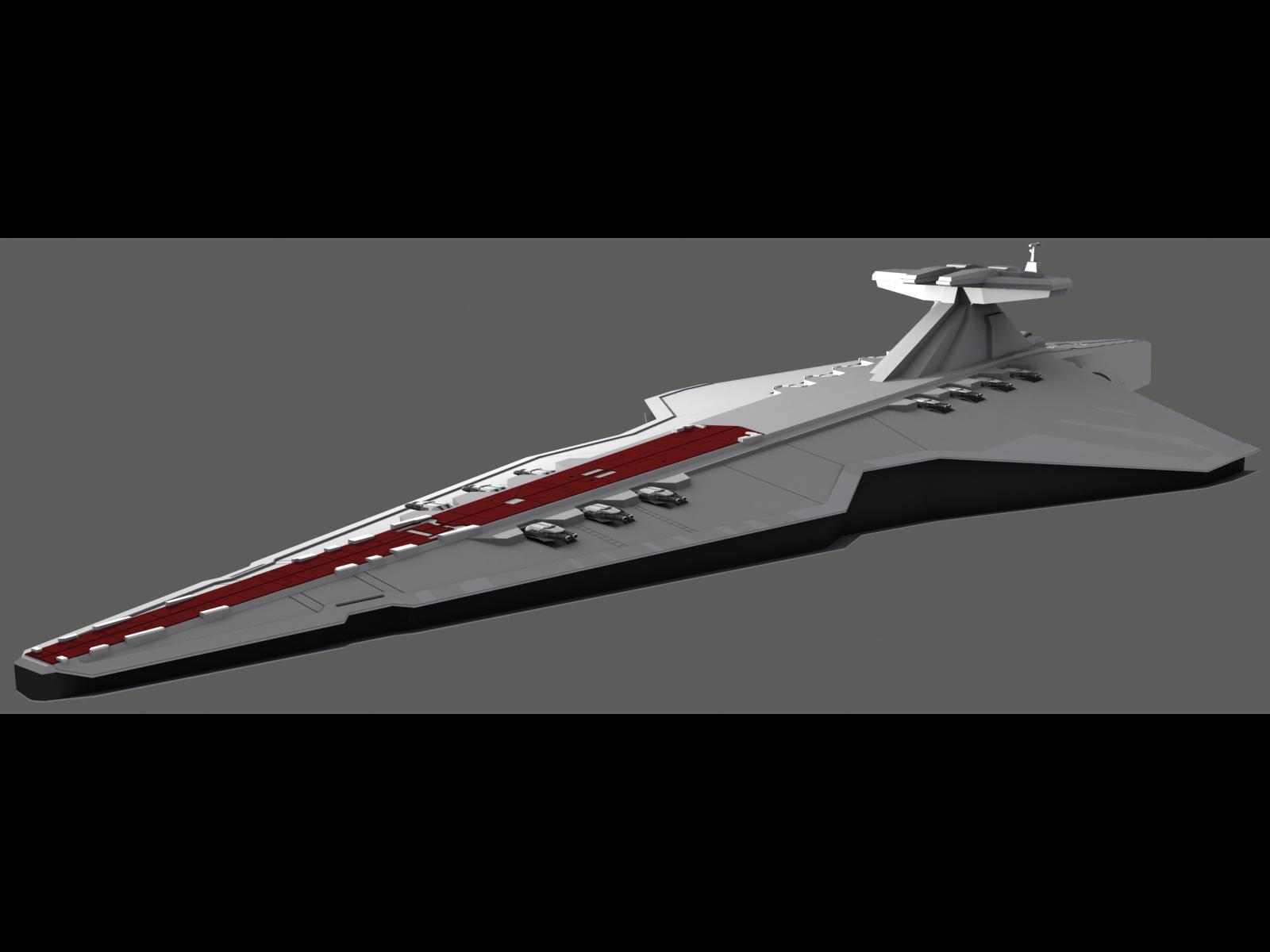 The Shadow War -> Venator II-class Star Destroyer