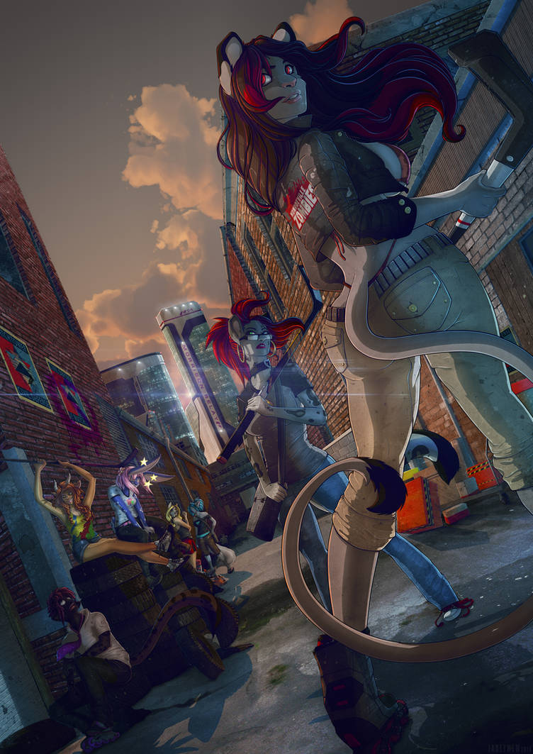 Commission for Kit Keiko by FoxGirlJade