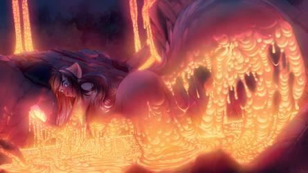 Volcanic Heart by FoxGirlJade