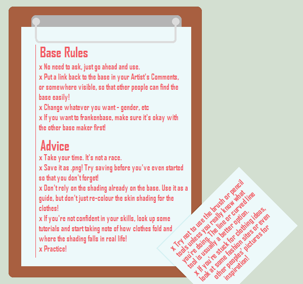 Rules and Advice by sniickers