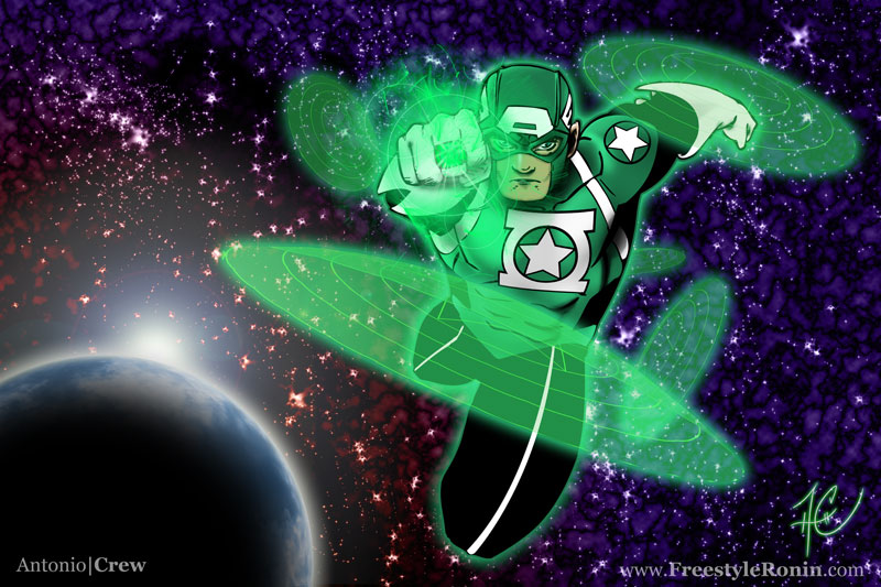 The Emerald Avenger by AC009
