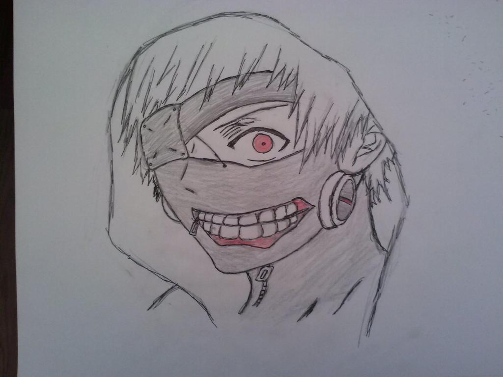 Tokyo Ghoul Ken Kaneki by leono9000 on DeviantArt