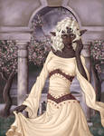 Drow with Cherry Trees