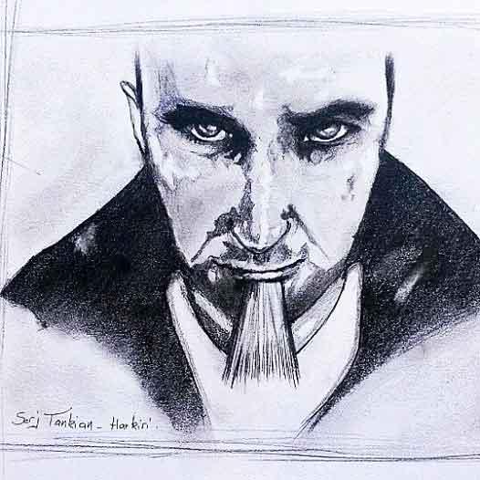 Serj Tankian by elephteria1990