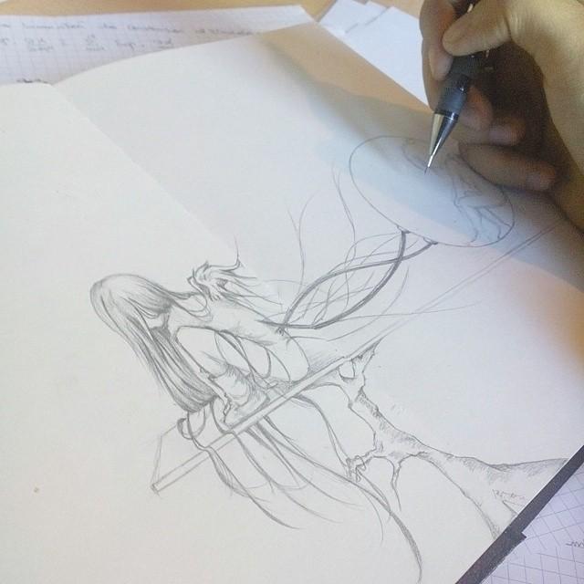 Sketch by elephteria1990