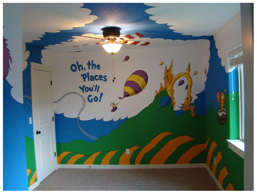 dr seuss mural seussville 03 by geminifire on deviantart
