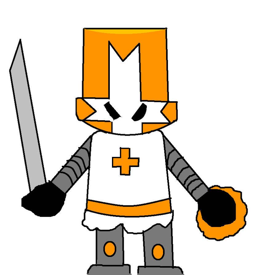 Castle Crashers-Orange Knight