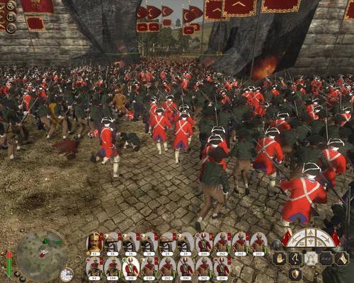 Siege of Rome-Italian perspective