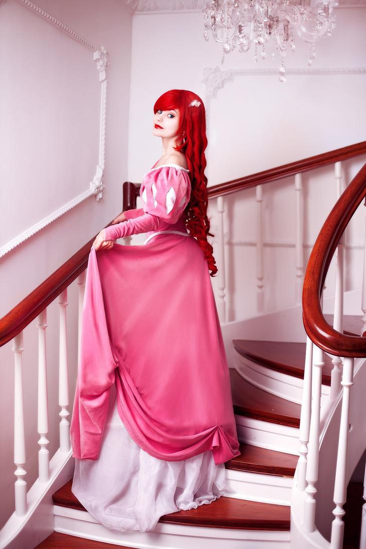 Ariel in the castle by JasDisney