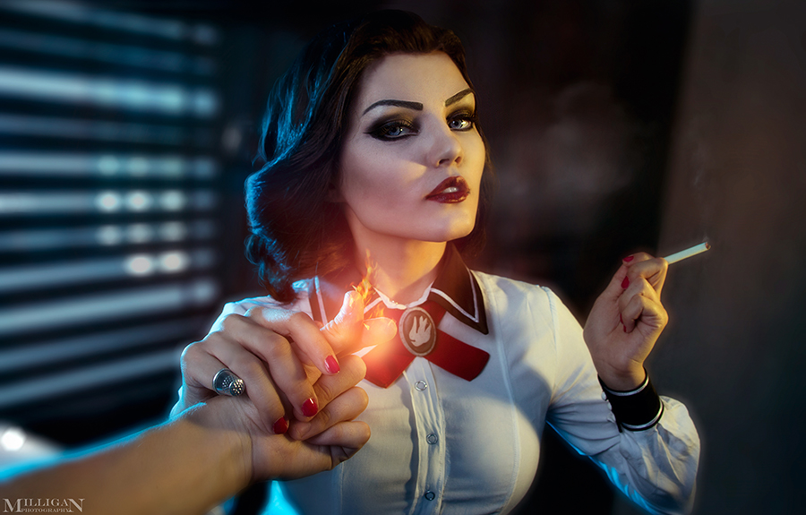 infinite sexy cosplay Bioshock elizabeth
