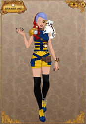 Steampunk Alicia by GreenRoxz