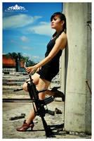 Girl and Gun 5 by basudewa