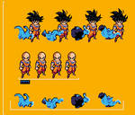 UPDATE ANIMATION GOKU ALL FRAMES ULTIMATE LSW