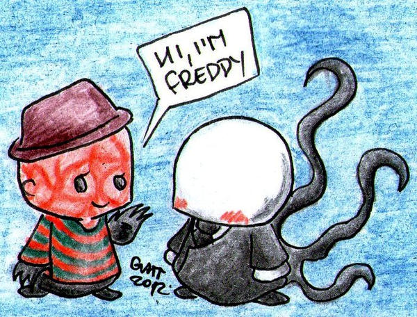 Meet Freddy by pinkkuneko
