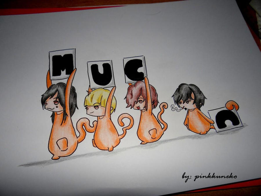 MUCC by pinkkuneko