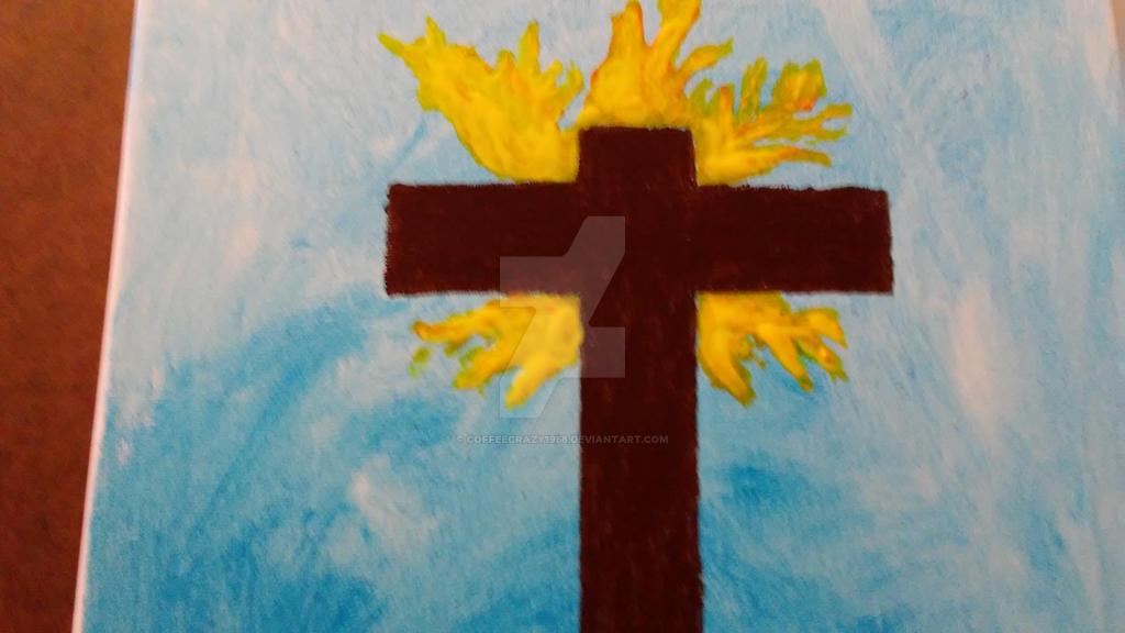 The cross by coffeecrazy1958